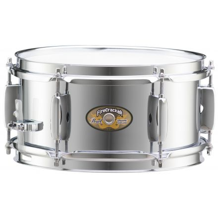 Pearl 10x5 FireCracker Snare Drum, Steel shell