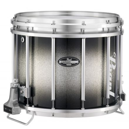 Pearl Marching Percussion: Ffx 14X12 Marching Sd Carboncore #368 - Black Silver Burst