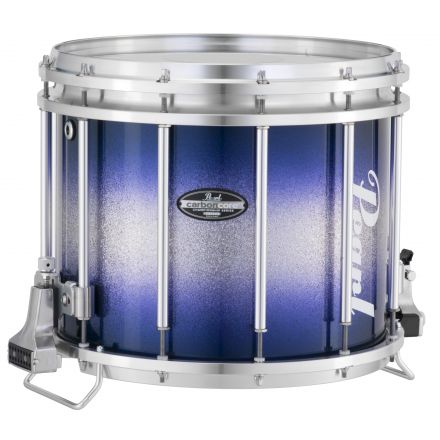 Pearl Marching Percussion: 13X11 Maple Carboncore Ffx Marching Snare Drum, W/R Ring #960 - Blue Silver Burst