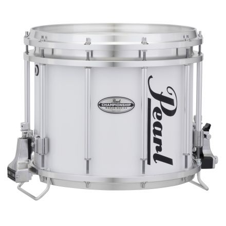 Pearl 13X11 Championship Maple Ffx Marching Snare - Pure White