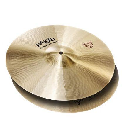 "Paiste Formula 602 Medium Hi Hat Cymbals 15"""