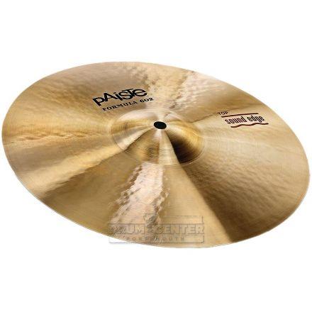 "Paiste Formula 602 Sound Edge Hi Hat Cymbal Top Cymbal 14"""