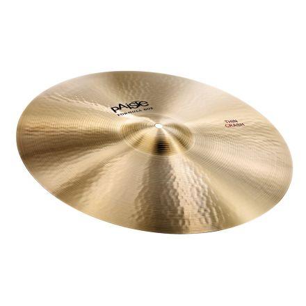 "Paiste Formula 602 Thin Crash Cymbal 16"""