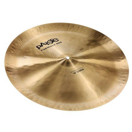 "Paiste Formula 602 Modern Essentials China Cymbal 18"""