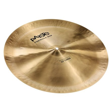"Paiste Formula 602 Modern Essentials China Cymbal 22"""