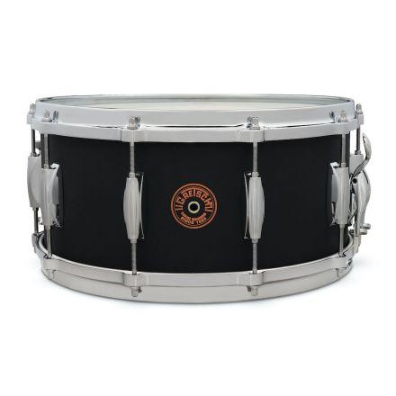 Gretsch Black Copper Engraved Snare Drum 14x6.5 10 Lug