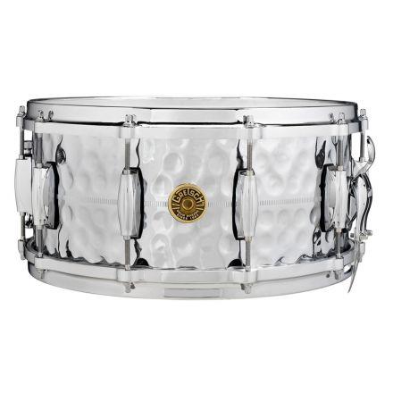 Gretsch USA Hammered Brass Snare Drum 6.5X14