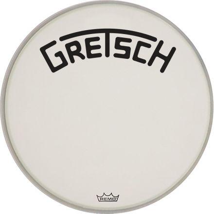 "Gretsch Bass Drum Head Coated 22"" w/ Broadkaster Logo"