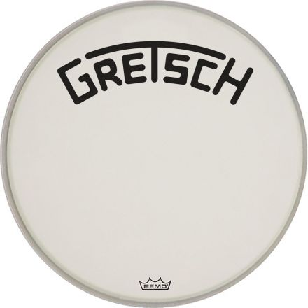"Gretsch Bass Drum Head Coated 24"" w/ Broadkaster Logo"