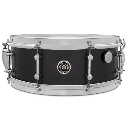 Gretsch Brooklyn Standard Snare Drum - 14x5.5 - Satin Black Metallic - Mike Johnston!