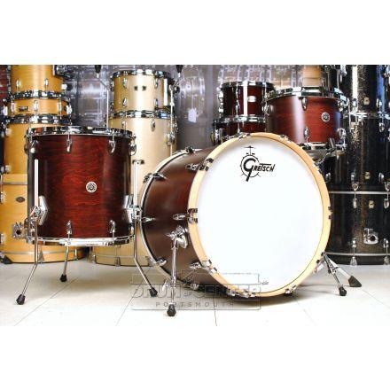 Gretsch Brooklyn 3pc Drum Set Satin Walnut - DCP Exclusive!