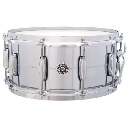 Gretsch Brooklyn Chrome Over Brass Snare Drum 14x6.5