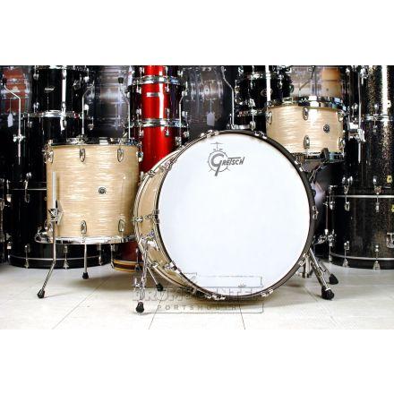 Gretsch Brooklyn 4pc Rock Drum Set Creme Oyster