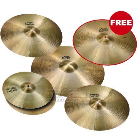 Paiste Giant Beat Giant Cymbal Box Set w/FREE Crash