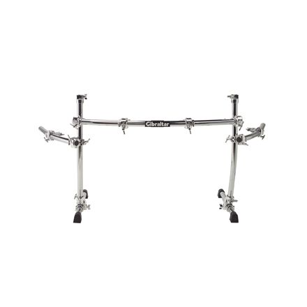 Gibraltar GCS-400C Chrome Curved Power Rack with 2 Side Wings
