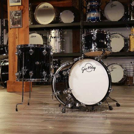George Way Aristocrat Studio Drum Set - 18/12/14 - Gloss Black