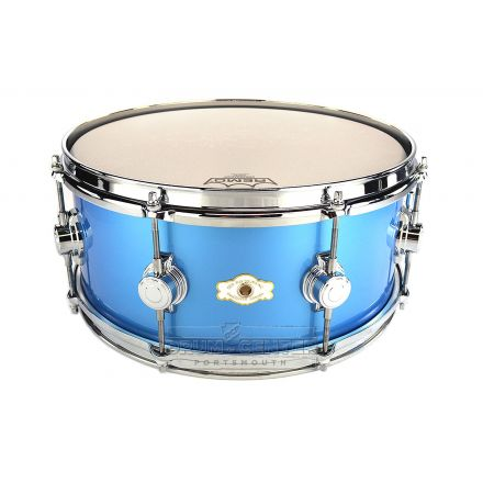 George Way Tuxedo Studio Snare Drum 14x6.5 Million Dollar Baby Blue