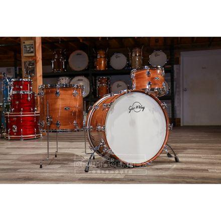 George Way Aristocrat Acacia Drum Set 24/13/16