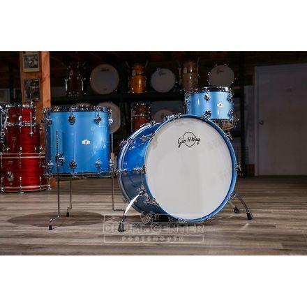 George Way Aristocrat Studio Drum Set 24/13/16 - Million Dollar Baby Blue