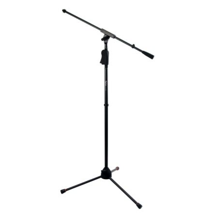 Gator Frameworks Tripod Mic Stand with Single Section Boom and Deluxe One-Handed Clutch