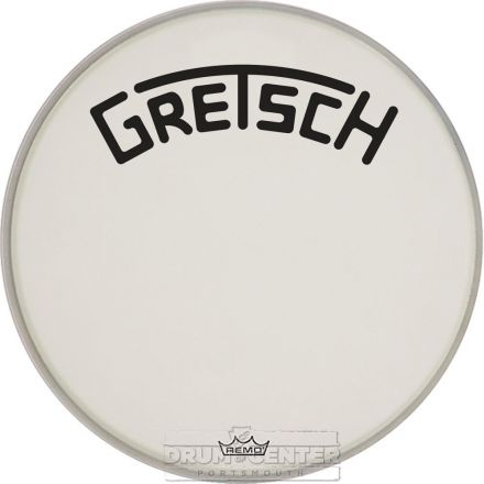 Gretsch Bass Drum Head Coated 26 With Broadkaster Logo