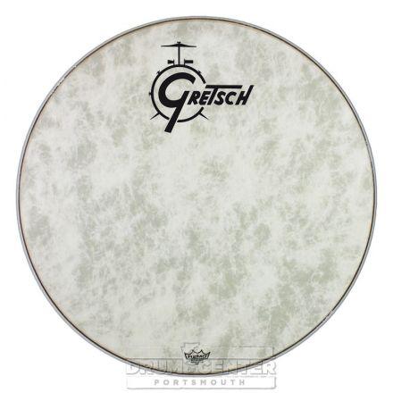 Gretsch Bass Drum Head Fiberskyn 18 With Logo