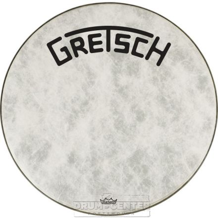 Gretsch Bass Drum Head Fiberskyn 20 With Broadkaster Logo