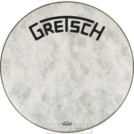 Gretsch Bass Drum Head Fiberskyn 26 With Broadkaster Logo