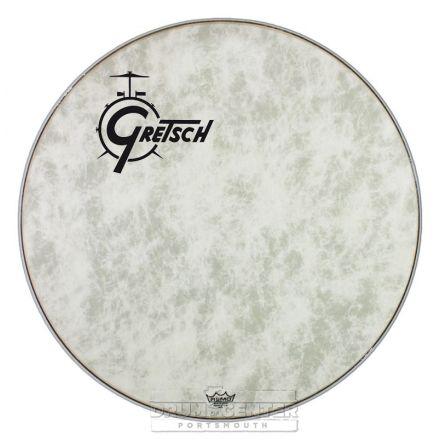 """Gretsch Bass Drum Head Fiberskyn 22"""" w/ Offset Logo"""