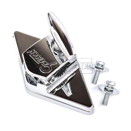 Gretsch Parts : Hinged Diamond Plate Tom/Floor Tom Bracket