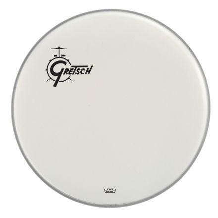 """Gretsch Bass Drum Head Coated 18"""" w/ Offset Logo"""