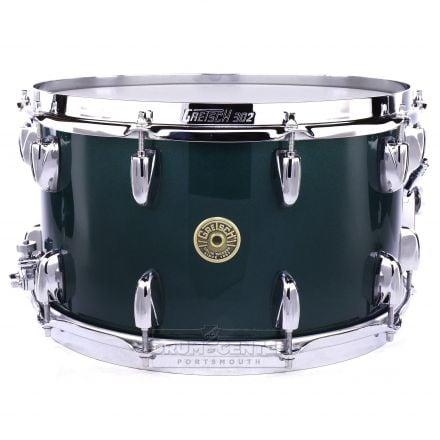 Gretsch Broadkaster Snare Drum 14x8 20-Lug Cadillac Green Gloss w/Micro Sensitive
