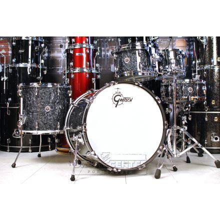 Gretsch Brooklyn 5pc Euro Drum Set Deep Black Marine Pearl