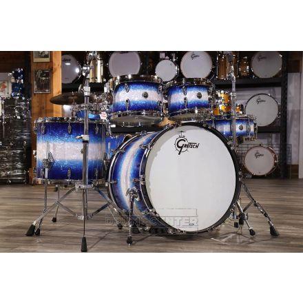 Gretsch Brooklyn 4pc Euro Drum Set Blue Burst Pearl