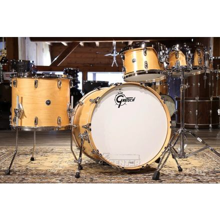 Gretsch Brooklyn 4pc Euro Drum Set 22/10/12/16 Satin Natural