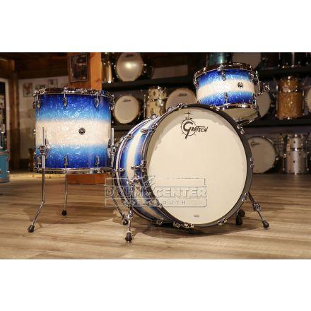 Gretsch Brooklyn 3pc Classic Drum Set Blue Burst