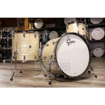 Gretsch Brooklyn 3pc Classic Drum Set Creme Oyster