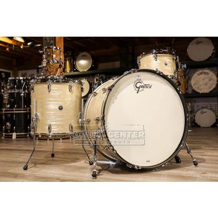 Gretsch Brooklyn 3pc Drum Set w/26bd - Creme Oyster