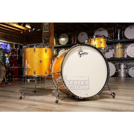 Gretsch Brooklyn 3pc Drum Set w/26bd - Gold Sparkle