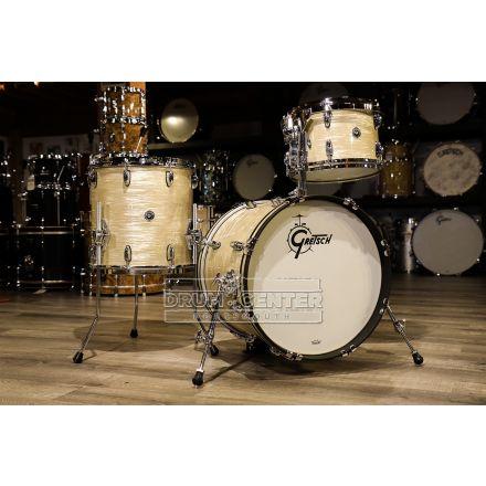 Gretsch Brooklyn 3pc Jazz Drum Set Creme Oyster