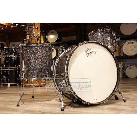 Gretsch Brooklyn 3pc Rock Drum Set w/24bd - Deep Black Marine Pearl