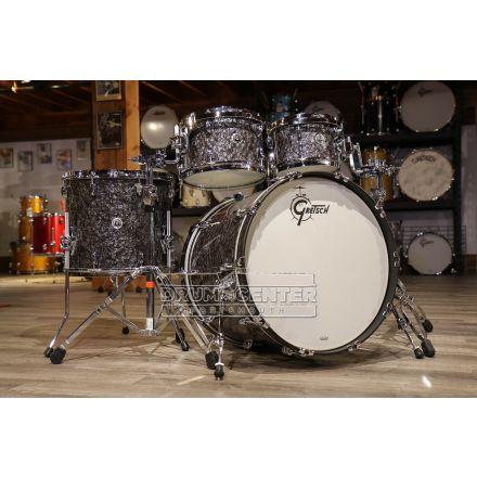 Gretsch Brooklyn 4pc Euro Drum Set Deep Black Marine Pearl