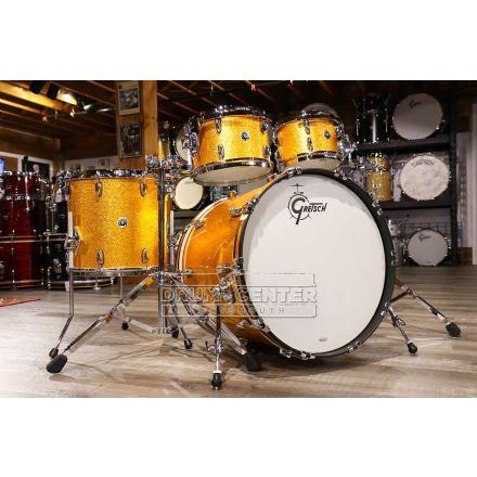 Gretsch Brooklyn 4pc Euro Drum Set Gold Sparkle