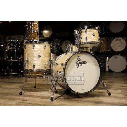 Gretsch Brooklyn 4pc Jazz Drum Set 18/12/14/14 Creme Oyster