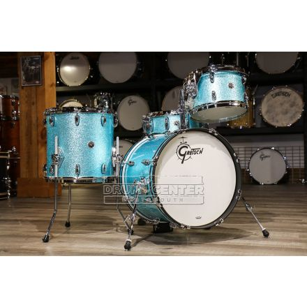 Gretsch Brooklyn 4pc Jazz Drum Set Turquoise Sparkle
