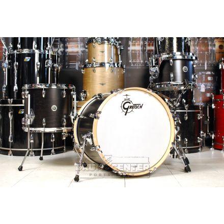 Gretsch Brooklyn 3pc Drum Set 20/12/14 Satin Dark Ebony