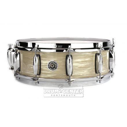 Gretsch Brooklyn Snare Drum 14x5 10-Lug w/ Lightning Creme Oyster