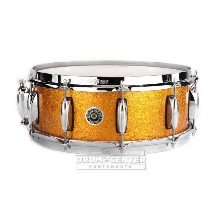 Gretsch Brooklyn Snare Drum 14x5 10-Lug w/ Lightning Gold Sparkle