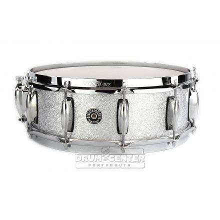 Gretsch Brooklyn Snare Drum 14x5 10-Lug w/ Lightning Silver Sparkle