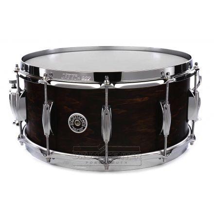 Gretsch Brooklyn Snare Drum 14x6.5 10-Lug Satin Antique Maple